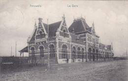 Peruwelz La Gare Station 1912 Zeldzaam Mooie Zegel En Stempel Obliteration (En Très Bon Etat) - Péruwelz