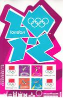 CHINA 2012-17 London Olympic Flag Emblem Special Mini-pane - Nuovi