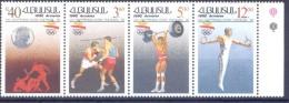 1992. Armenia, Olympic Games Barcelona 1992, 4v In Strip, Mint/** - Armenia
