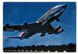 CPSM AVIATION AVIONS BOEING 707 B INTERCONTINENTAL DE LA T.W.A. - 1946-....: Era Moderna