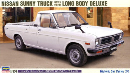 Nissan Sunny Truck GB121 1979 Long Body Deluxe 1/24 ( Hasegawa ) - Cars