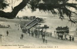 GUETHARY -64- AU PORT DES PECHEURS - Guethary