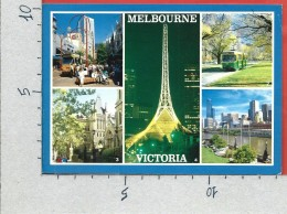 CARTOLINA VG AUSTRALIA - VICTORIA - Melbourne - Vedutine - 10 X 15 - ANN. 1999 - Melbourne