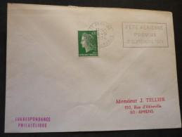 4 Flammes De Provins Département De Seine Et Marne  4 Enveloppes - Marcophilie (Lettres)
