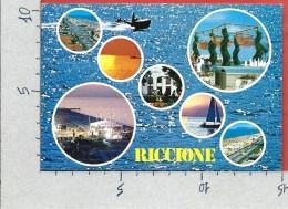 CARTOLINA VG ITALIA - RICCIONE (RN) - Vedutine - 10 X 15 - ANN. 2002 - Rimini