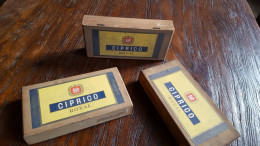 Drie Sigarenkistjes: Ciprico Royal, Vander Elst - Scatola Di Sigari (vuote)