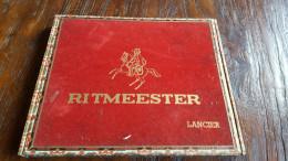 Ritmeester Lancier, Oude Sigarenkist, Flor De Buat - Zigarrenkisten (leer)
