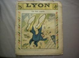 LYON REPUBLICAIN N°26 DU 30 JUIN 1912 UN BON COPAIN - Libri, Riviste, Fumetti