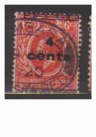 4801-Variety East Africa 4c. On 6 SG64 Oveprint Shifted Upside – A Part Of It Is Printed On The Lower Part Of The - Great Britain (former Colonies & Protectorates)
