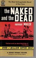 Roman En Anglais:   THE NAKED AND THE DEAD.     Norman MAILER.     1956. - Romans