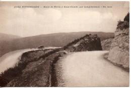 39. Route De Morez à Saiint Claude Par Longchaumois. Un Lacet - Morez