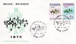 Belgium 1972 FDC Europa CEPT (G84-31) - 1972