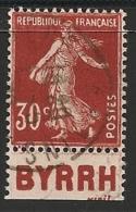 Timbre à Bande Publicitaire Type Semeuse 30c Rouge N° 360. Pub Publicité Réclame Carnet - Advertising