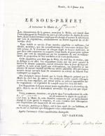 SAINT - OUEN L' AUMÔNE ( 95 )  -  Réquisition  Pour Les Dépôts De Cavalerie  ( Ft = 18 Cm X 24 Cm  ) - Saint Ouen L'Aumone