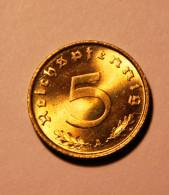 5 Reichspfennig 1939 A In Super Erhaltung , Stempelglanz - 5 Reichspfennig