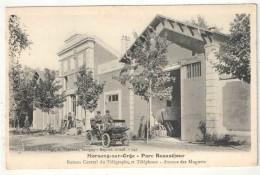 91 - MORSANG-SUR-ORGE - Parc Beauséjour - Bureau Central Du Télégraphe Et Téléphone - Avenue Des Muguets - Morsang Sur Orge