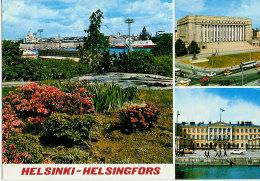 Finland  Card From Helsinki, Sceneries, - Finlandia