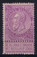 Belgium OBP Nr 66  MH/* - 1893-1900 Thin Beard