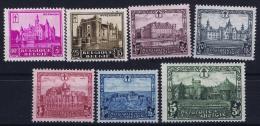 Belgium OBP Nr 308 - 314 MH/*  1930 - Belgique