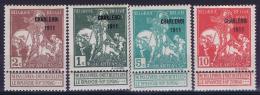 Belgium OBP Nr 101 - 107  MH/*  1911 - 1910-1911 Caritas