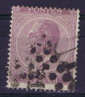 Belgium OBP Nr 21 Used  1865 - 1865-1866 Profil Gauche