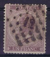 Belgium OBP Nr 21 Used  1865 - 1865-1866 Linksprofil