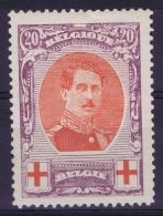 Belgium OBP Nr 134   MH/*  1915 - 1914-1915 Rode Kruis
