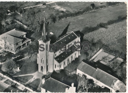 SOUMOULOU - N° 12.158 - L'EGLISE VUE AERIENNE (CPSM) - France