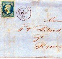 Lot AVRIL1: Lettre - 1849-1876: Periodo Classico
