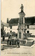 Ste Anne D'Auray (56) - La Fontaine  Avec Bonne Animation - Sainte Anne D'Auray
