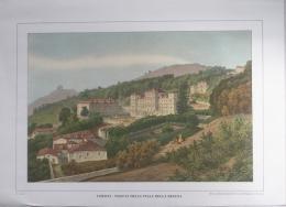 STAMPA MODERNA - TORINO - VEDUTA DELLA VILLA DELLA REGINA - H. GONIN - Prints & Engravings