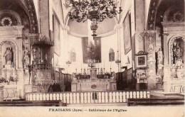 39 FRAISANS  Intérieur De L'Eglise - Autres Communes
