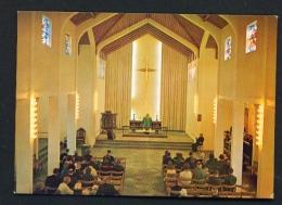 ICELAND  -  Skalholt Cathedral Interior  Unused Postcard - Iceland