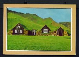 ICELAND  -  Skogar  Regional Museum  Unused Postcard - Iceland