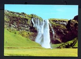 ICELAND  -  Seljalandsfoss Waterfall  Unused Postcard - Iceland
