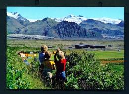 ICELAND  -  Skaftafell  Unused Postcard - Iceland