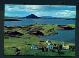 ICELAND  -  Skutustaoir  Unused Postcard - Iceland