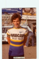 Roberto CERUTI . 2 Scans. Lire Descriptif. Cyclisme. Mecap Selle Italia - Radsport