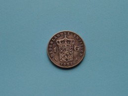 1952 - 1 Gld / KM 2 ( Uncleaned Coin / For Grade, Please See Photo ) !! - Antilles Neérlandaises