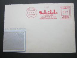 1938 , Hersfeld   , Freistempel  Auf   Brief , Verkürzt - Deutschland