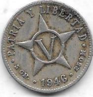 5 Centavos 1946 - Cuba