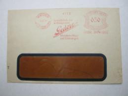 1931 , Remscheid   , Freistempel  Auf   Brief, Verkürzt