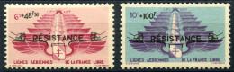 Levant (1942) PA N 8 à 9 * (charniere) - Levant (1885-1946)