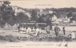 Les Manoeuvres A Namur - Construction Du Pont - Namur