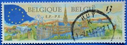 BELGIUM BELGIQUE BELGIE 13 Fr 1989 EUROPEAN ELECTION PARLAIMENT M.2378 - USED - Belgium