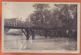 Carte Postale 91. Montgeron  Le Pont Du Moulin De Senlis    Trés Beau Plan - Montgeron