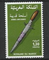 "Maroc YT 890 "" Arme Ancienne "" 1981 Neuf** - Marokko (1956-...)"