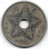 10 Centimes 1922 - Congo (Belge) & Ruanda-Urundi