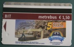 "ITALIA 2016 - ROME METRO TICKET ""MAGIC LAND"" NEW - Metro"
