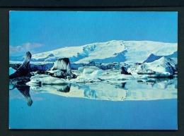 ICELAND  -  Breioamerkursandur  Unused Postcard - Iceland